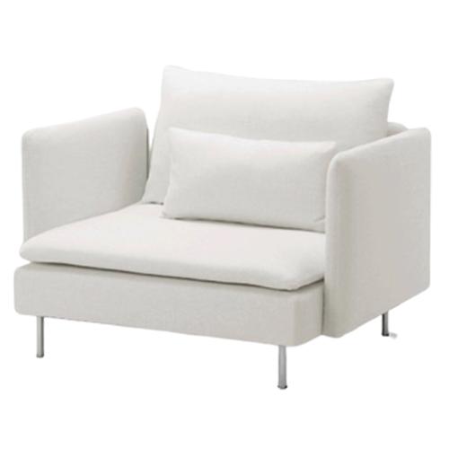 6-Armchair—White