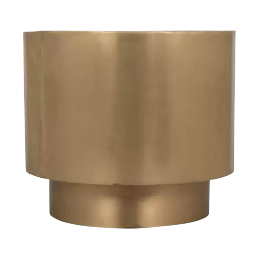 Brass-Round-Side-Table