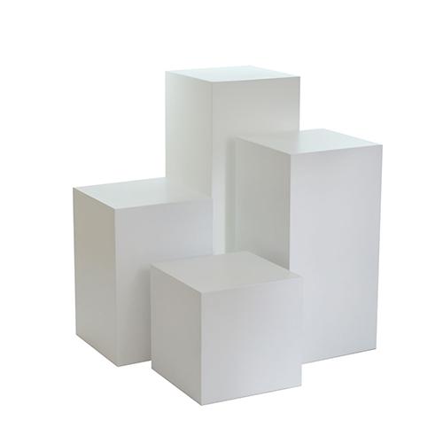 Different-Size-Plinths—White
