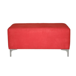 Double-Ottoman—Red