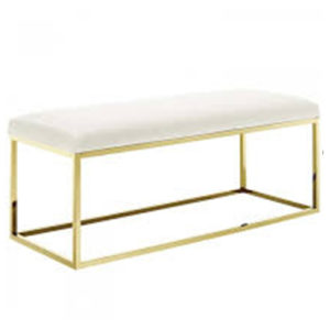 Double-Seater-Bench—White