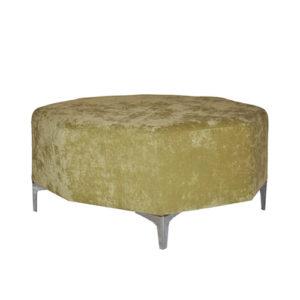 Octagon-Ottoman—Kiwi-Green