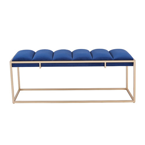 Orpheo-Bench—Blue-Velvet