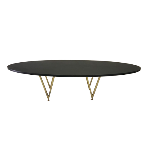 Oval-Dining-Table—Black