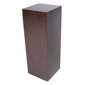Plinth—Chocolate-Brown