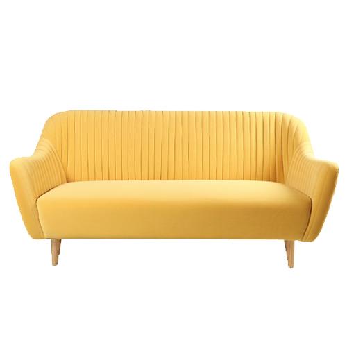 Scandinavia-Couch—Yellow