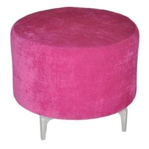 Single-Seater-Round-Ottoman—Pink-Jazz