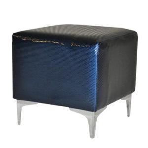 Single-Seater-Square-Ottoman—Patent-Blue