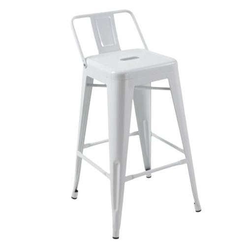 Tolix-Barstool-Low-Back—White