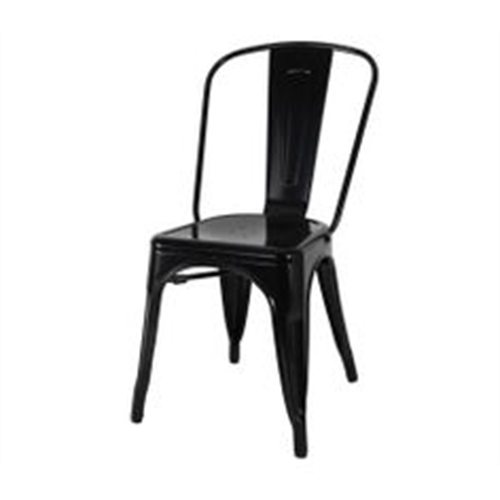 Tolix-Cafe-Chair—Black